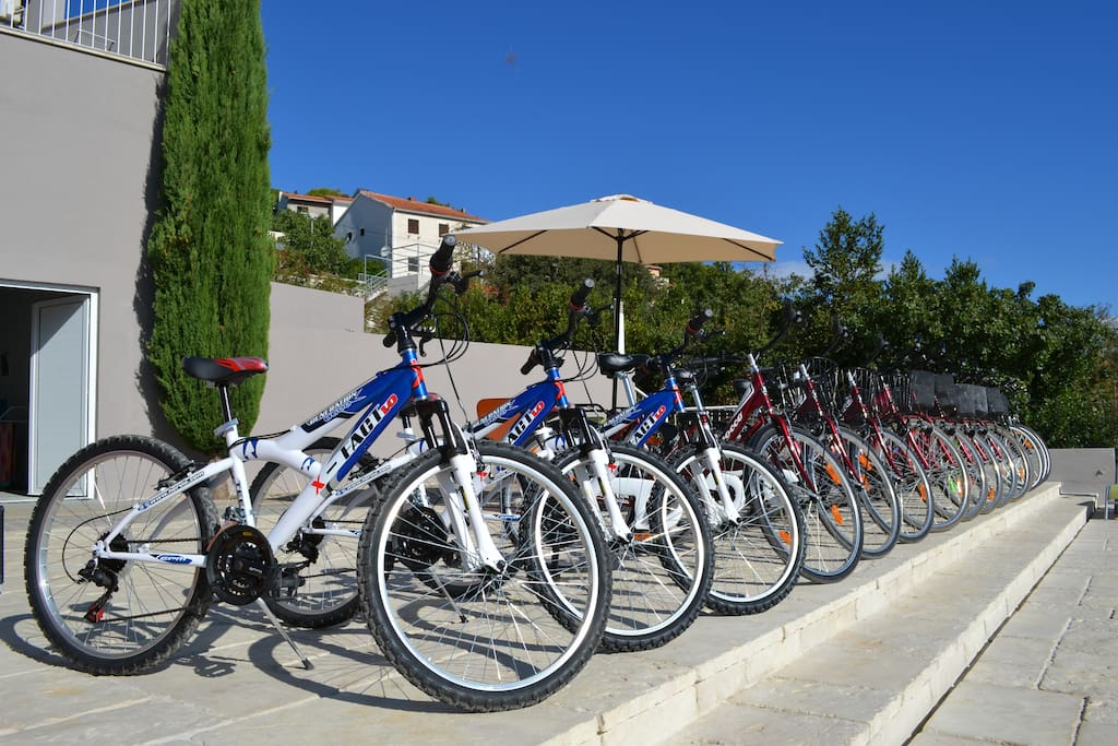 Free bikes for our guests