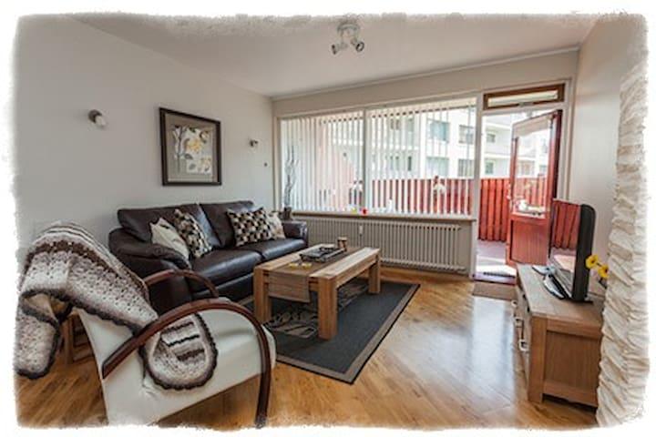 GentleSpace Apts - Túngata, 2 twin beds & sofa-bed - Ísafjörður - Byt