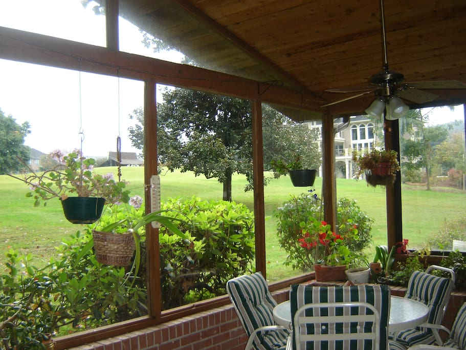 Large Glassed-In Porch