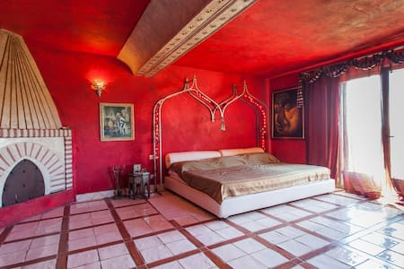 luxury villa near rome ,pool,spa - Genazzano - Villa
