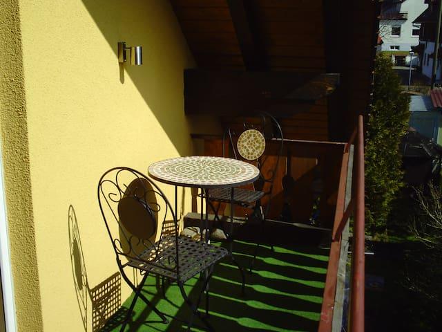 Gemütliche 2 Zimmer Wohnung mit Balkon