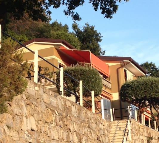 Vista magnifica terrace - Camogli - Lägenhet