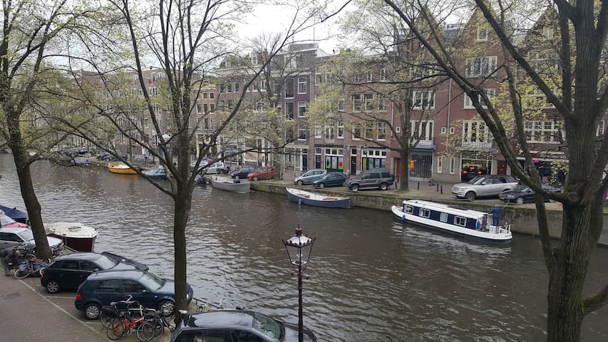 Room in Canalview apt in citycenter! - Amsterdam - Apartment