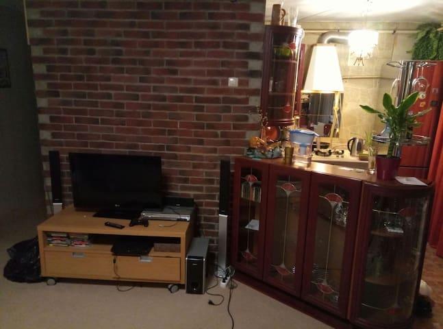 Уютная 2-х комнатная студия