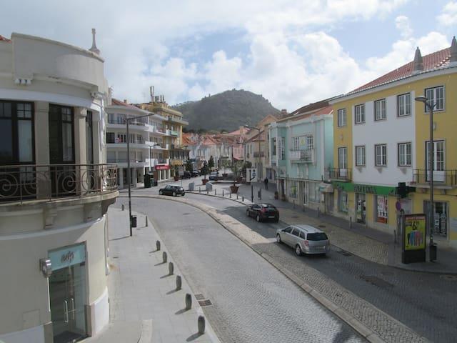 Rua onde está localizado o edifcio