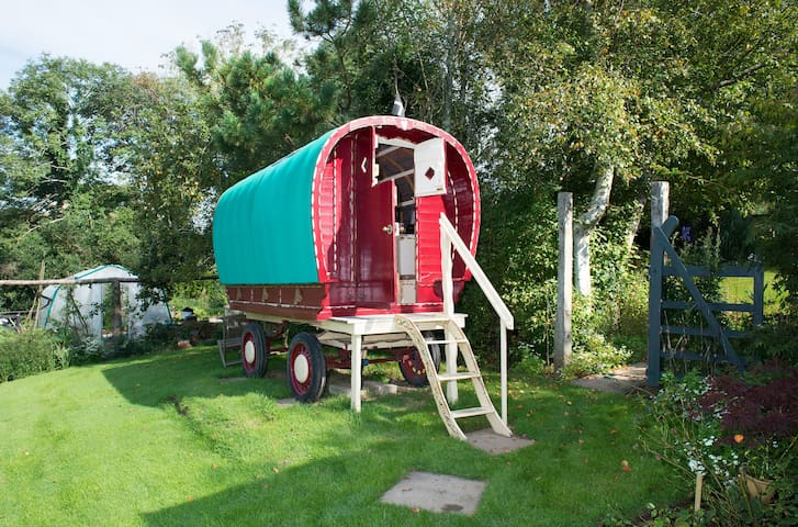 Romany Caravan at Bush Meadows  - Bush