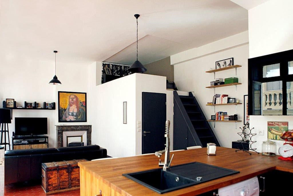 Appartement type loft com die appartements louer for Appartement type loft