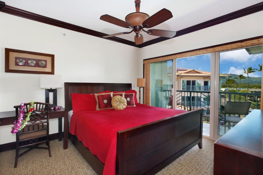 Heavenly King size bed in Master Suite