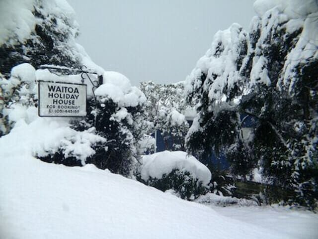 Snow at Waitoa