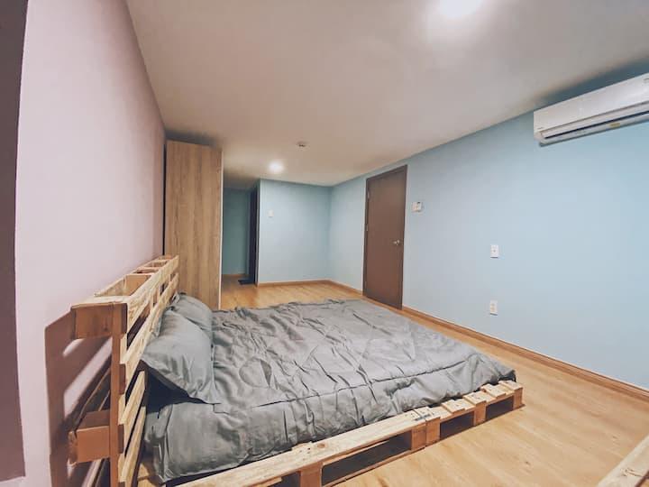 ^#HOF Homestay-2bedroom yellow and pink#^