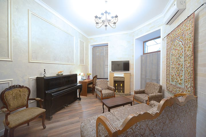 Cozy Apartment in the Historical Center - Киев - Квартира