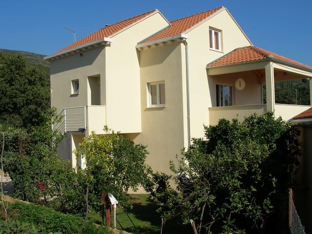 Sea View Holiday House - Molunat - Apartment
