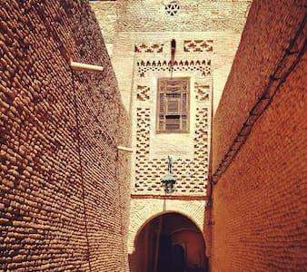Historical House heart of old Medin