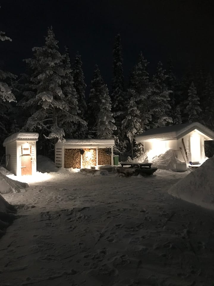 Aurora cabin - close to Ice Hotel