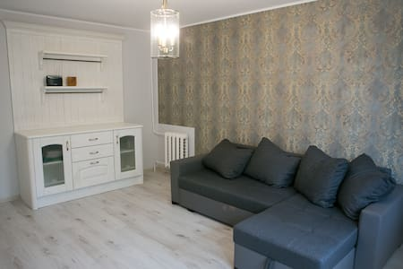 Vintage style apartment 1 km from the beach