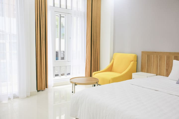 #1A @CBD Kitsune.Saigon central spacious modern BR