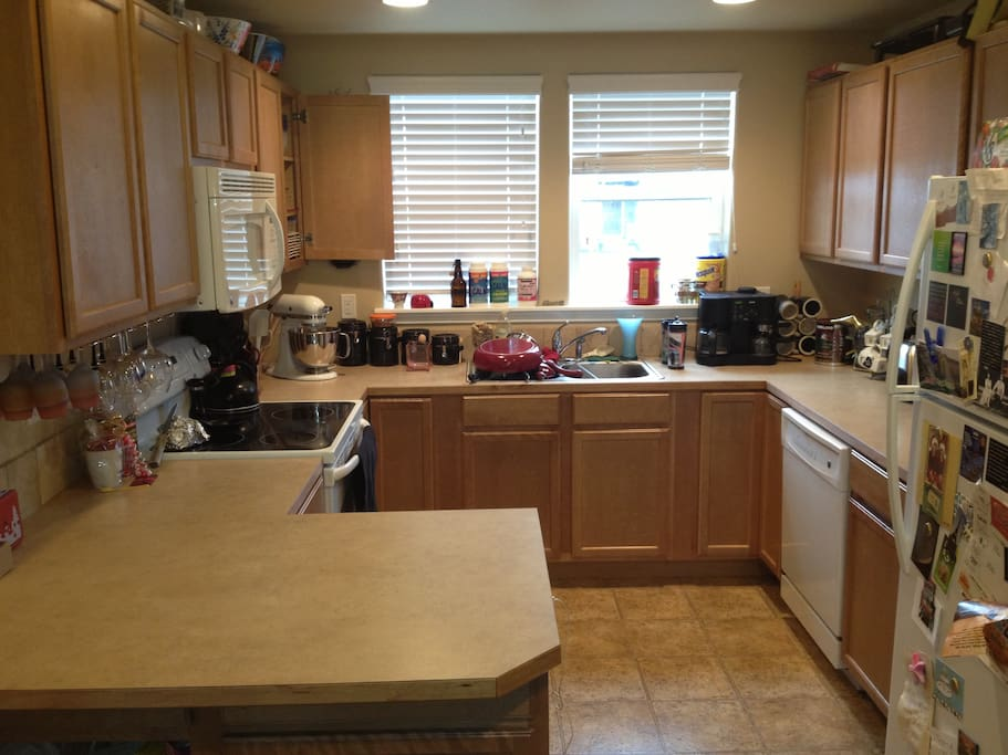 The kitchen, to which you will have full availability to use.