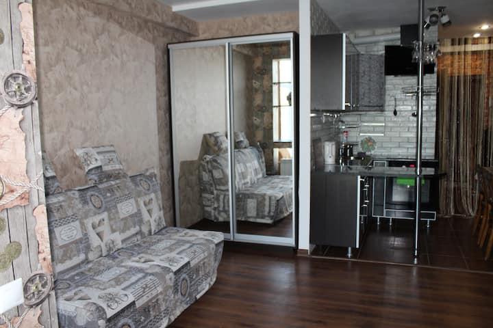 Квартира-студия в Хосте недалеко от моря