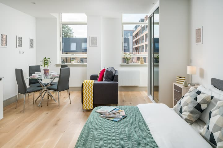 Modern 1 bed flat in Seven Sisters, London