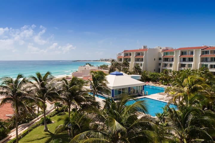Postcard perfect ocean view for two - hotel zone - Cancún - Apartment