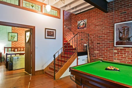Funky Converted Warehouse