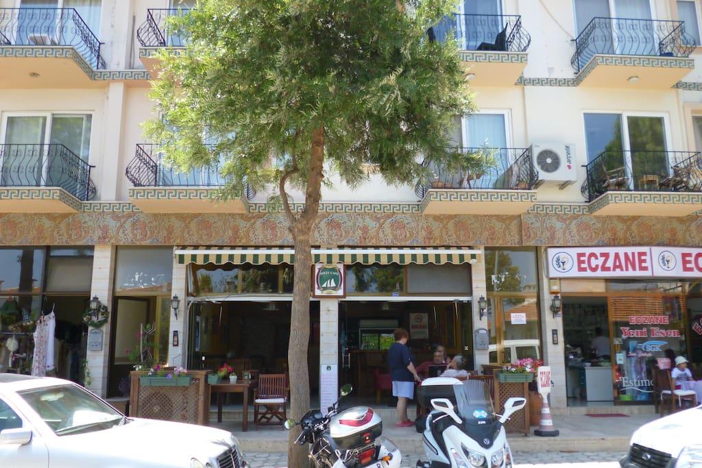 Wohnung im Herzen des türkischen Sommertrubels