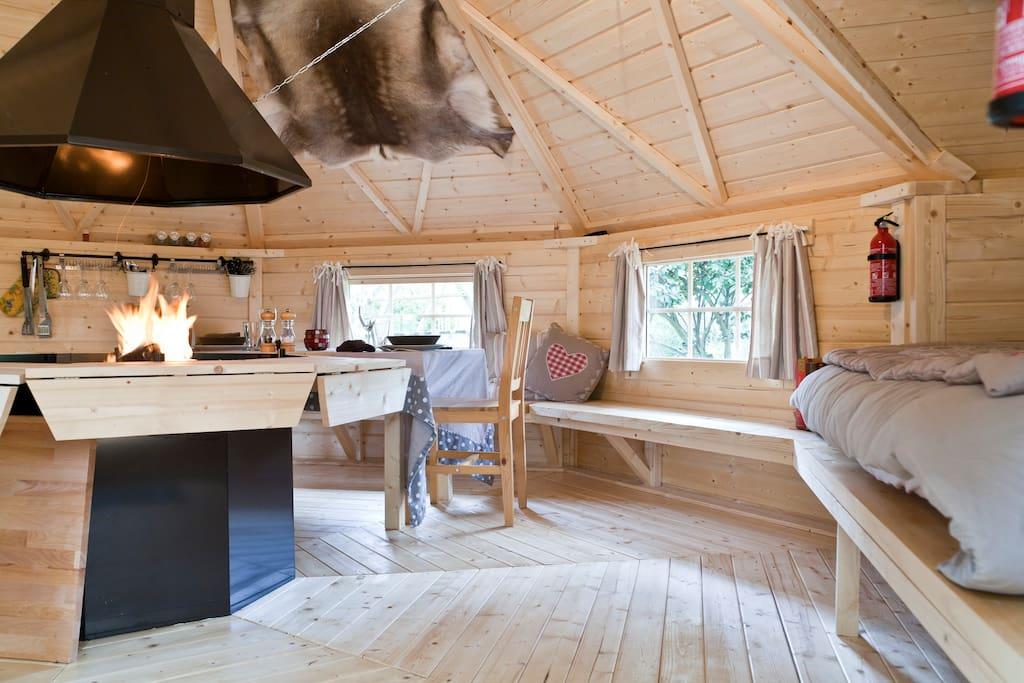 insolite entre nantes et la mer chambres d 39 h tes louer vue pays de la loire france. Black Bedroom Furniture Sets. Home Design Ideas