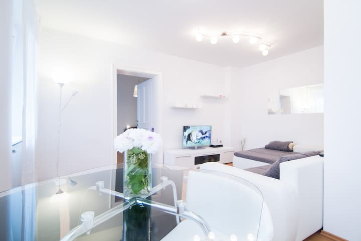White apartment in heart of Zagreb - Zagreb - Pis