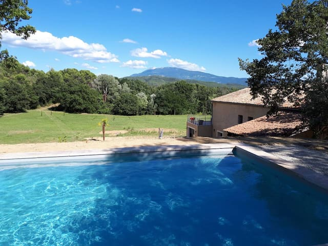 Family house Vaison, Provence, large swimming pool