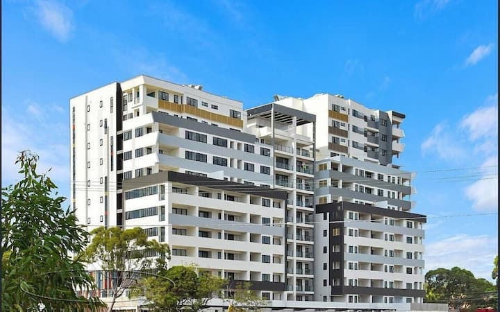 Sydney Bankstown station shopping centre apartment