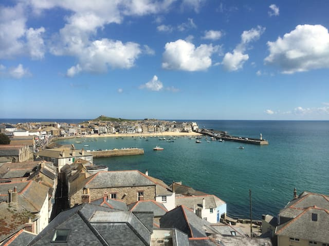 Harbour View, the best view of St Ives harbour!