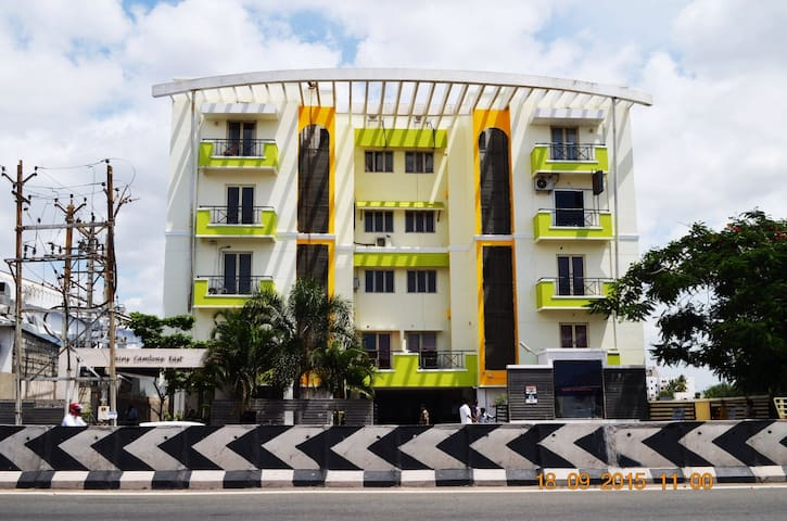 Gerones Residency Service Apartments - Coimbatore - Appartement