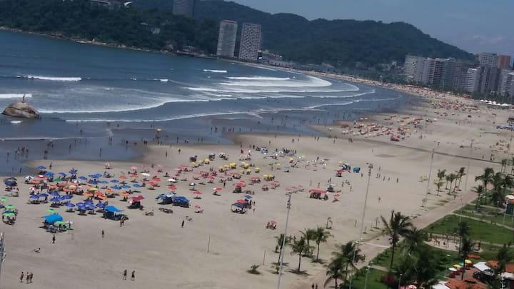 Conforto,frente à praia do José menino/Santos