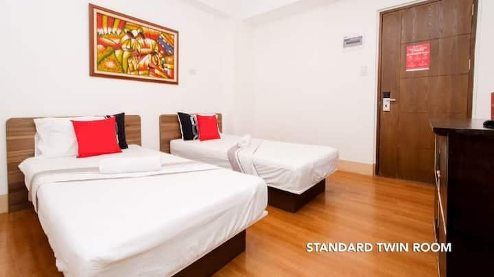 Standard Twin Room Sulit Dormitel SM Sta Mesa