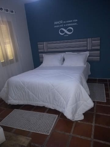 suite  com ar condicionado