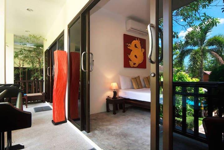 VILLA PARADISE 2 BEDROOMS POOL JACUZZI, SEA 5 MIN - Ko Samui - House