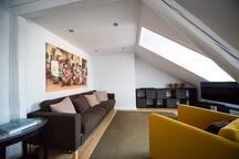 Helle Dachgeschosswohnung 70 qm - BASF - BG Klinik