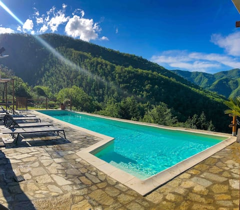 Cosy apartment  in Tuscany Lunigiana & 5Terre