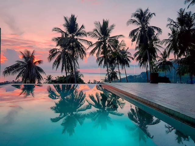 Amazing Sea View 2 BDR Private Pool Villa, Chaweng