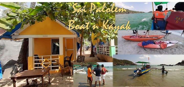 Sai Palolem Beach Stay - Boat n Kayak.