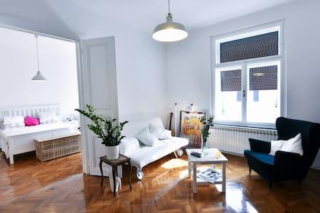 Zoe's studio