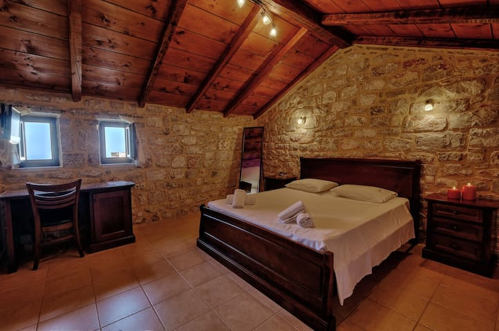 Achelatis-Traditional family suite sea view - Lakonia - Wohnung