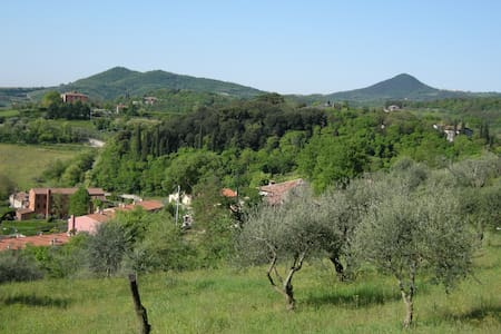 Holiday house in a beautiful medieval village. - Arquà Petrarca - Wohnung