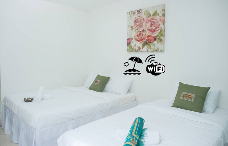 Ibai Beach Guesthouse-TRIPLE DELUXE A1