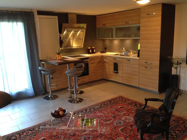 Independent ground floor apartment with parking. - Vésenaz - Ev