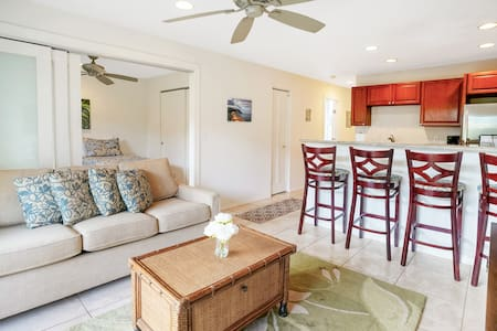 Beautiful 2BD Condo by the Ocean - Central Kauai!