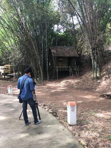 กระท่อมกลางป่าไผ่ - สวนผึ้ง - Cabaña