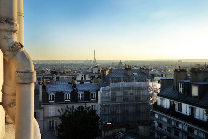 Incredible Eiffel tower views!