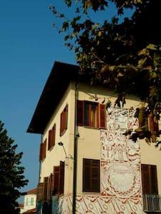 Appartamento in antica casa aulica - Foglizzo - Oda + Kahvaltı