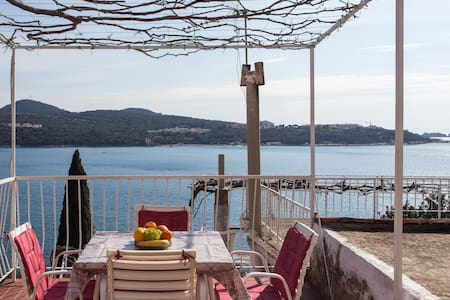 2Bedroom apartment Angelina with terrace&sea view - Lozica - Daire